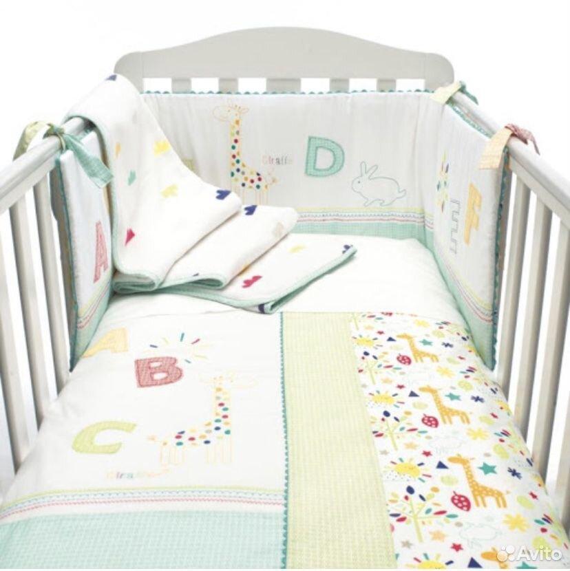 Набор постельного для детской кроватки Mathercare  89600628996 купить 1