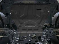 Новая защита двигателя на Шкоду Октавию А7