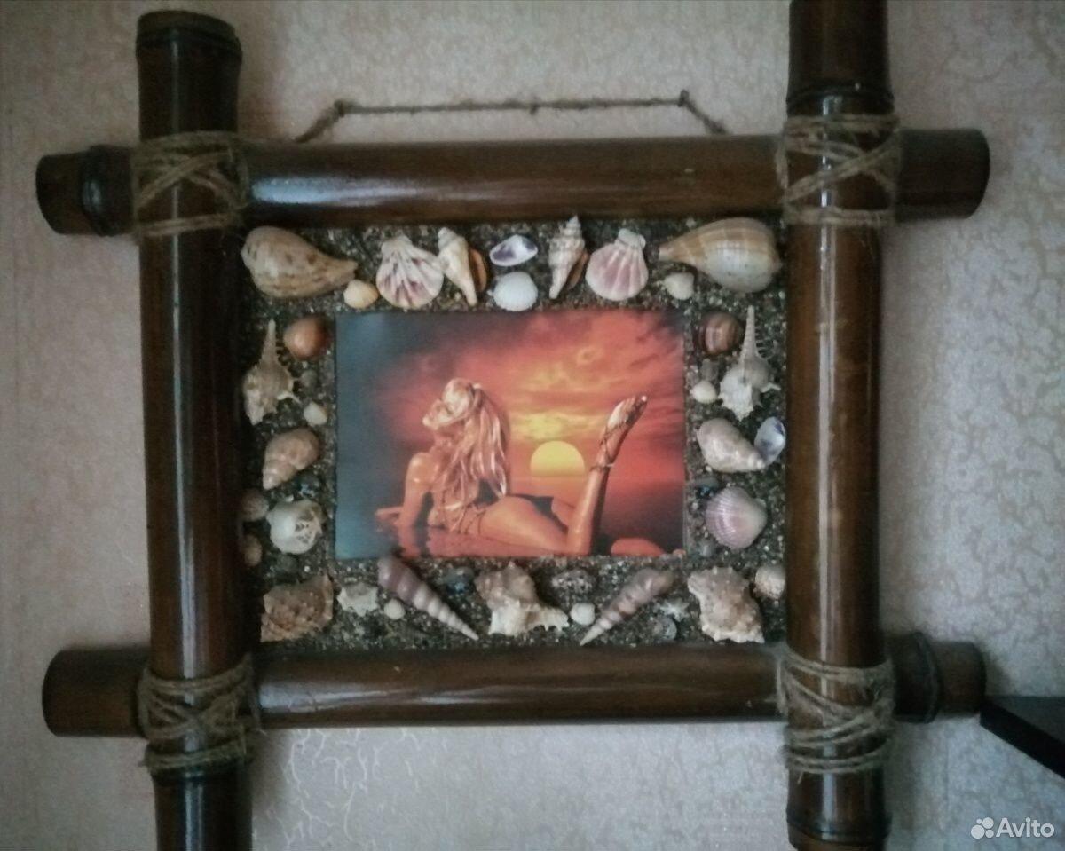 Деревянная бамбуковая настенная рамка для фото А4  89803340968 купить 2