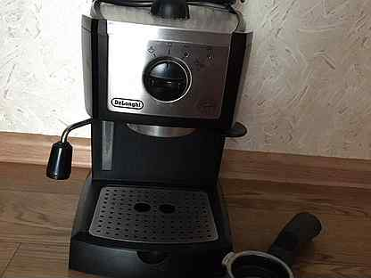 Кофеварка DeLonghi EC 155.BK