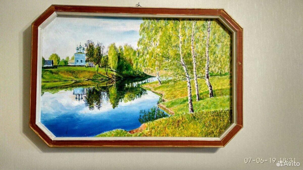 Картина 75 х 50см
