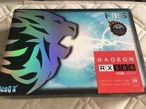 Нерабочая видеокарта HIS IceQ RX580 4Gb