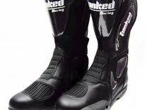 Мотоботы кожаные Tanked Racing высокие новые