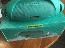 Портативная колонка Hopestar H37 Голубая