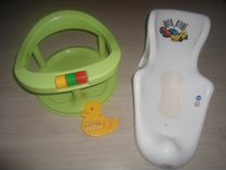 Стул, горка и градусник для купания малыша