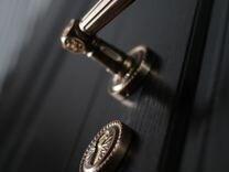 Металлическая дверь мдф+порошок от производителя