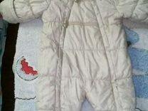 Зимний комбинезон 3-6 месяцев