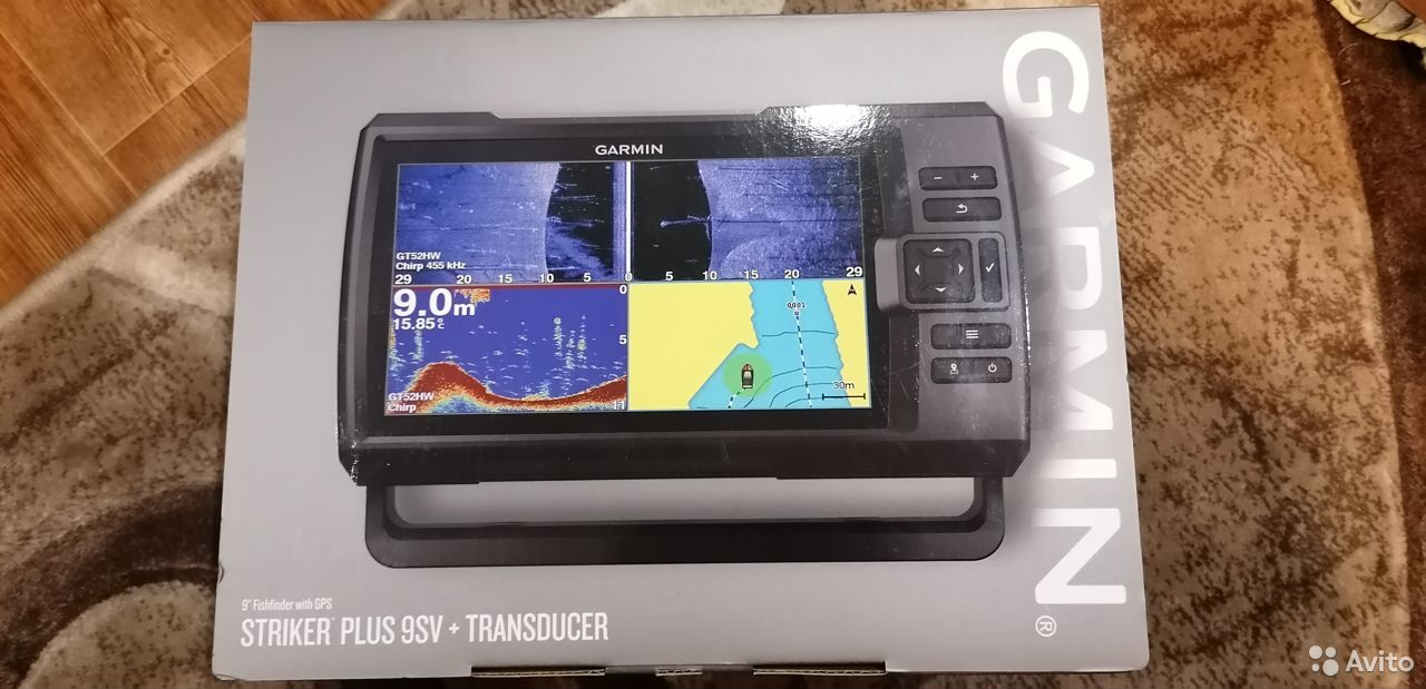 Garmin Striker Plus 9 SV GT52  89272299082 купить 1