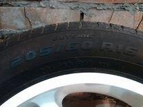 Продам 4 шины Amtel Planet Evo 205/60 R16