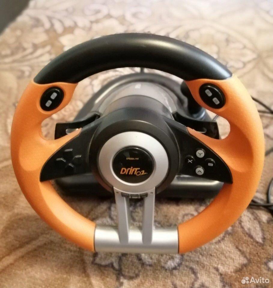 Руль игровой drift02 spidlink  89224220041 купить 4