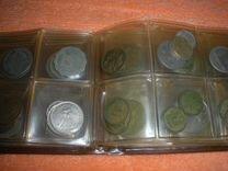 Альбом с монетами 64 штуки