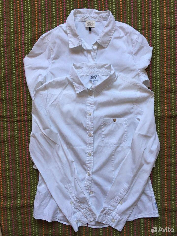 Рубашка блузка для девочки Armani оригинал 14А 166  89163063125 купить 5